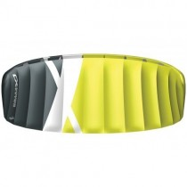 Cross Kites. Boarder 2.1 - Fluor Yellow. Inc' 2 line control bar.