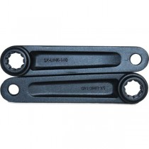 Indy ISIS Freestyle Splined Cranks - 140mm - Pair