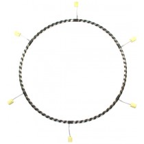 Gora - 6 Section Poly Pro Travel Fire Hula Hoop