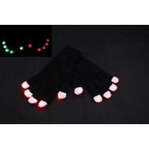 Flashing LED Gloves