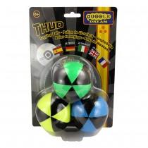 3 x Juggle Dream Star Balls & DVD - Pack