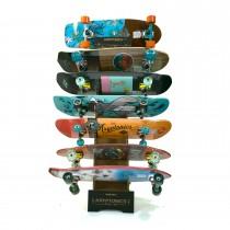 Kryptonics Skateboard & Torpedo Display Rack