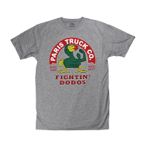 Paris Fighting Dodo T-Shirt Grey