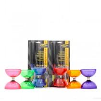 Juggle Dream Cyclone Quartz 2 Diabolo, Sticks and DVD - PACK