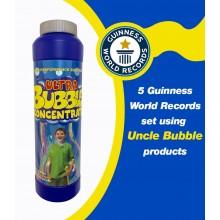 Uncle Bubble Bubble Concentrate Solution 355 Millilitre (12 Fluid Ounce) Make 3.78 litres of Bubble Solution for Giant Bubble Wands, Bubble Machines, Bubble blowers